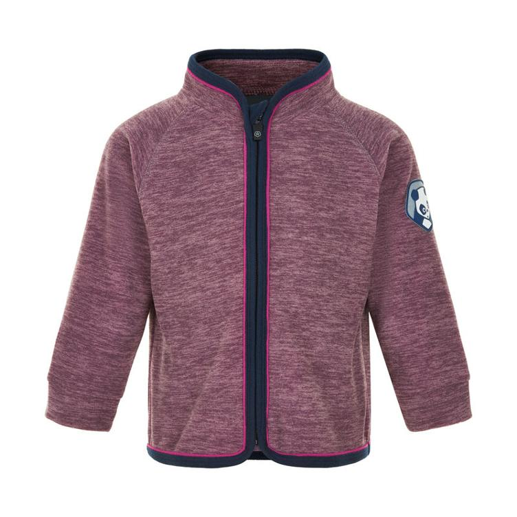 Fleece Jacke, melange Gr.74