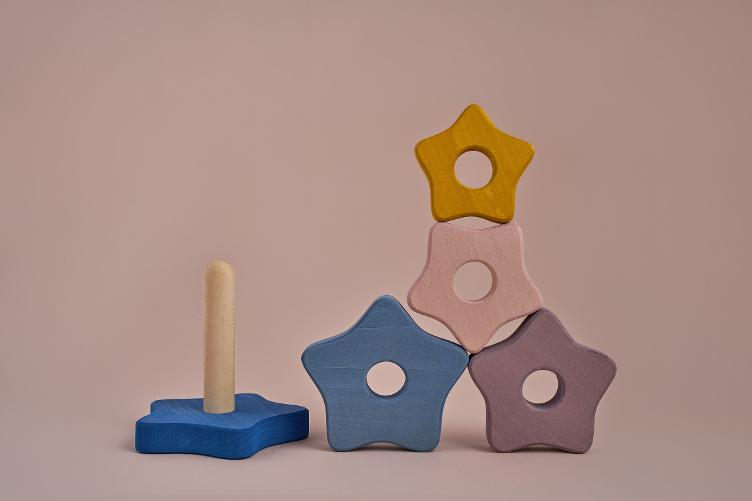 Star stacking tower - 0